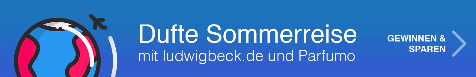 Dufte Sommerreise mit ludwigbeck.de und Parfumo